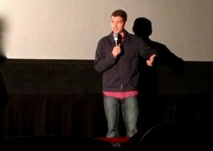 "Jeremy Saulnier, writer/director of ""Blue Ruin,"" at the 2013 Chicago International Film Festival."