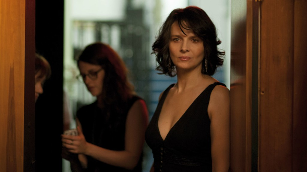 "Juliette Binoche stands head and shoulders above anything else in ""The Clouds of Sils Maria."""