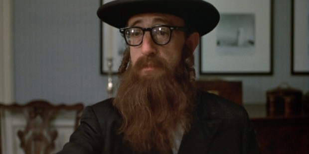 Alvy Singer depicted as an Orthodox Jew.