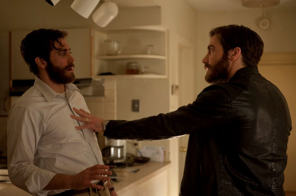 Jake Gyllenhaal playing against himself in Enemy.