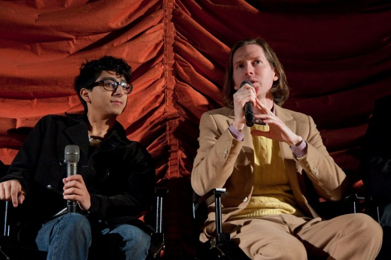 Wes Anderson Q&A